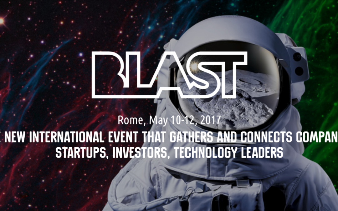 Nuvolaria will take part to the Blast Project Event in Rome 10-12 May, 2017