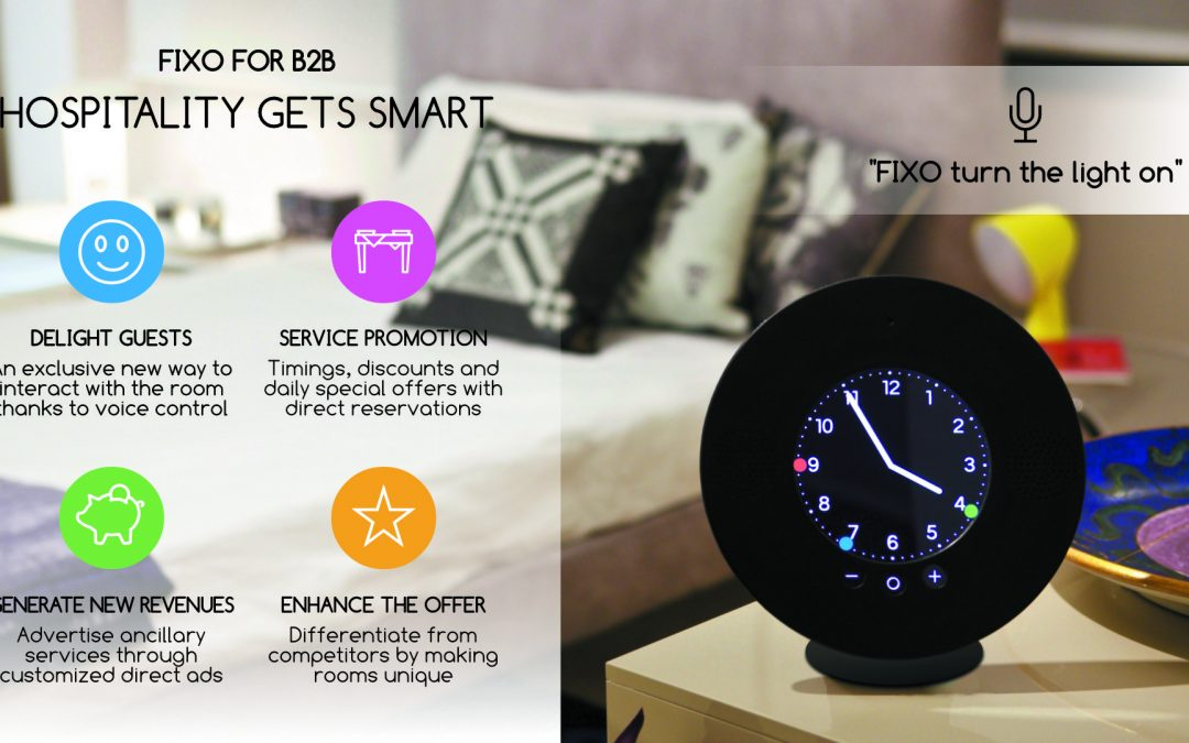 FIXO Smart Room: Hospitality gets smart!