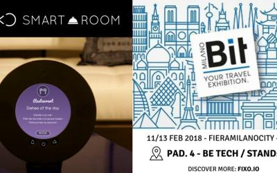 FIXO @ BIT 2018 in Milan